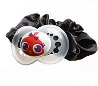 Upcycling idea Hairband decorated with soothers