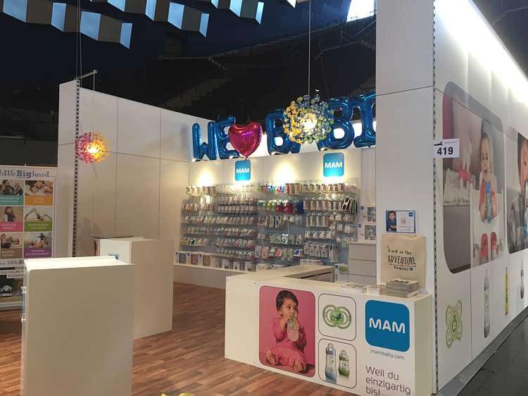 MAM exhibition stand
