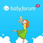 Illustration of mother holding baby up in the air babyforum.at