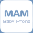 Logo for MAM Baby Phone app